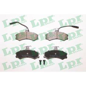 Bremsbelagsatz, Scheibenbremse Breite: 130mm, Höhe: 71,3mm, Dicke/Stärke: 19mm mit OEM-Nummer 9 940 092