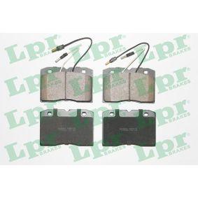 Bremsbelagsatz, Scheibenbremse Art. Nr. 05P015 120,00€