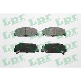 Bremsbelagsatz, Scheibenbremse Breite: 127,8mm, Höhe: 48mm, Dicke/Stärke: 15mm mit OEM-Nummer 45022SA6600