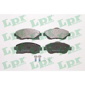 Bremsbelagsatz, Scheibenbremse Art. Nr. 05P1004 120,00€