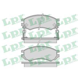 Bremsbelagsatz, Scheibenbremse Breite: 127,8mm, Höhe: 51,7mm, Dicke/Stärke: 16mm mit OEM-Nummer D1060-0N685