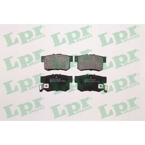 Brake Pad Set, disc brake Width: 88,9mm, Height: 47,5mm, Thickness: 15,4mm with OEM Number 43022S9AE52