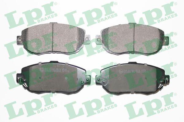 LPR  05P1033 Bremsbelagsatz, Scheibenbremse Breite: 144mm, Höhe: 64mm, Dicke/Stärke: 17mm