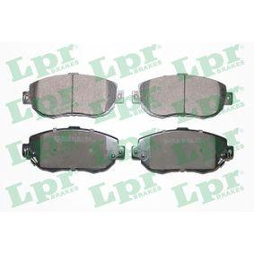 Bremsbelagsatz, Scheibenbremse Breite: 144mm, Höhe: 64mm, Dicke/Stärke: 17mm mit OEM-Nummer 04491-30341