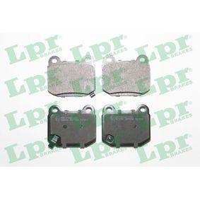 Bremsbelagsatz, Scheibenbremse Art. Nr. 05P1056 120,00€