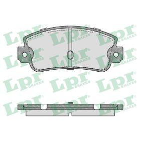 Bremsbelagsatz, Scheibenbremse Breite: 109mm, Höhe: 49mm, Dicke/Stärke: 12mm mit OEM-Nummer 791873