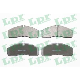 Bremsbelagsatz, Scheibenbremse Breite: 165mm, Höhe: 68mm, Dicke/Stärke: 20mm mit OEM-Nummer 41060-9X129