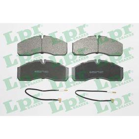 Bremsbelagsatz, Scheibenbremse Breite: 164,6mm, Höhe: 68mm, Dicke/Stärke: 20mm mit OEM-Nummer 50 01 844 748