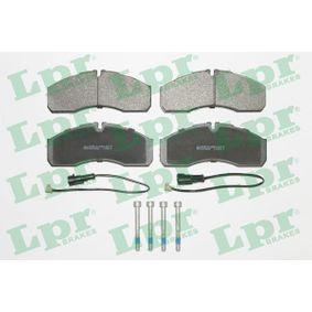 Bremsbelagsatz, Scheibenbremse Breite: 164,6mm, Höhe: 68mm, Dicke/Stärke: 20mm mit OEM-Nummer 425 361 01