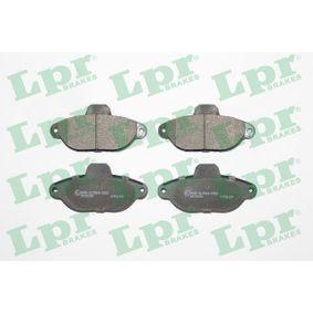 Brake Pad Set, disc brake 05P1191 PANDA (169) 1.2 MY 2018