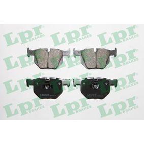 LPR Bremsbelagsatz, Scheibenbremse 05P1194 für BMW 5 (E60) 530 xi ab Baujahr 01.2007, 272 PS