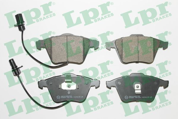 LPR  05P1230 Bremsbelagsatz, Scheibenbremse Breite 1: 155,1mm, Breite 2: 156,3mm, Höhe: 72,8mm, Dicke/Stärke: 19,3mm