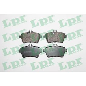 Brake Pad Set, disc brake Width: 116,7mm, Height: 64mm, Thickness: 19,1mm with OEM Number 1694201320