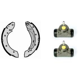Bremsbackensatz Breite: 40mm mit OEM-Nummer 6025370302