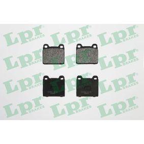LPR  05P135 Bremsbelagsatz, Scheibenbremse Breite: 61,7mm, Höhe: 56,5mm, Dicke/Stärke: 18,5mm