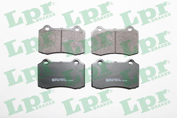 LPR  05P1426 Bremsbelagsatz, Scheibenbremse Breite: 109,7mm, Höhe: 69,3mm, Dicke/Stärke: 14,8mm