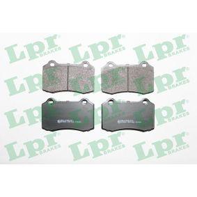 Bremsbelagsatz, Scheibenbremse Breite: 109,7mm, Höhe: 69,3mm, Dicke/Stärke: 14,8mm mit OEM-Nummer 4254.C6