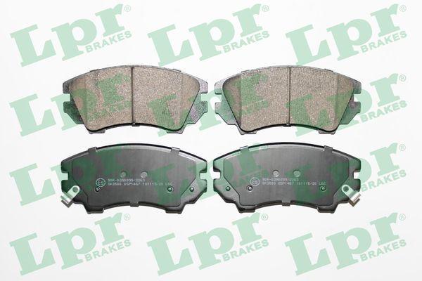 LPR  05P1467 Brake Pad Set, disc brake Width: 142mm, Height: 66,7mm, Thickness: 19,1mm