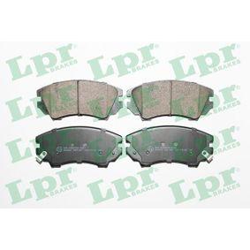 Bremsbelagsatz, Scheibenbremse Breite: 142mm, Höhe: 66,7mm, Dicke/Stärke: 19,1mm mit OEM-Nummer 95 520 061