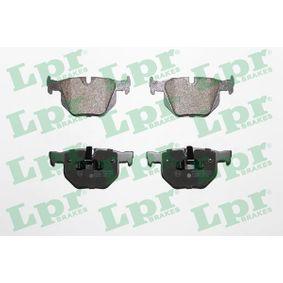 Brake Pad Set, disc brake 05P1476 3 Saloon (E90) 330d 3.0 MY 2011