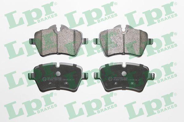 LPR  05P1485 Bremsbelagsatz, Scheibenbremse Breite: 131,5mm, Höhe 1: 64,1mm, Höhe 2: 71,6mm, Dicke/Stärke: 17,9mm