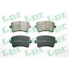 Bremsbelagsatz, Scheibenbremse Breite: 116,4mm, Höhe: 58,6mm, Dicke/Stärke: 17,5mm mit OEM-Nummer 8K0.698.451D