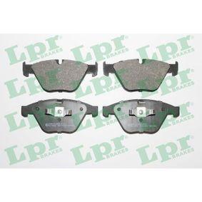 Bremsbelagsatz, Scheibenbremse Breite: 155,1mm, Höhe: 68,3mm, Dicke/Stärke: 20,3mm mit OEM-Nummer 34116780711