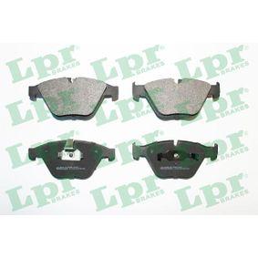 Brake Pad Set, disc brake 05P1510 3 Saloon (E90) 330d 3.0 MY 2008