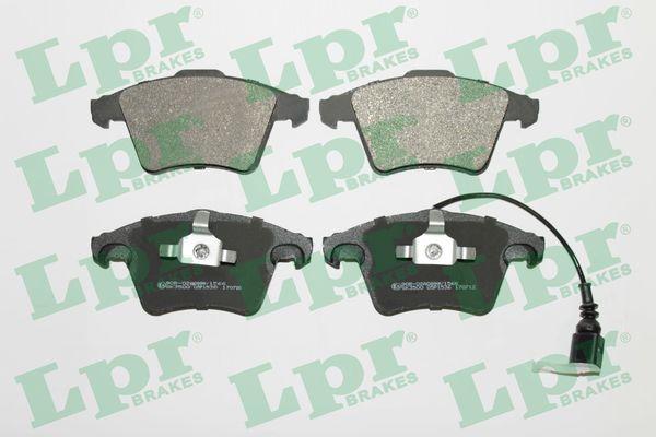 LPR  05P1536 Bremsbelagsatz, Scheibenbremse Breite 1: 155,2mm, Breite 2: 156,4mm, Höhe 1: 73,3mm, Höhe 2: 74,8mm, Dicke/Stärke 1: 20mm, Dicke/Stärke 2: 18,5mm
