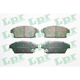 Bremsbelagsatz, Scheibenbremse Art. Nr. 05P1562 120,00€