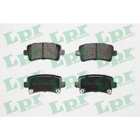 Brake Pad Set, disc brake Width: 106,4mm, Height: 47,4mm, Thickness: 17,3mm with OEM Number 16 05 319