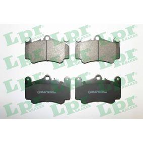 Bremsbelagsatz, Scheibenbremse Breite: 140,2mm, Höhe: 89mm, Dicke/Stärke: 17mm mit OEM-Nummer 99635194912