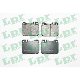 Bremsbelagsatz, Scheibenbremse Breite: 89,6mm, Höhe: 74mm, Dicke/Stärke: 17,5mm mit OEM-Nummer 000 420 95 20