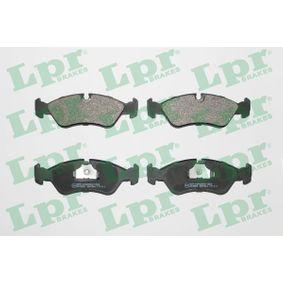 Bremsbelagsatz, Scheibenbremse Breite: 156,4mm, Höhe: 52,8mm, Dicke/Stärke: 17,3mm mit OEM-Nummer 16.05.808