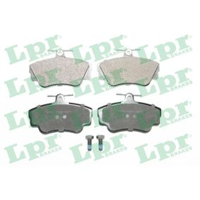 Brake Pad Set, disc brake Width: 110mm, Height: 67,5mm, Thickness: 17,2mm with OEM Number 3344 787