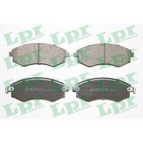 Bremsbelagsatz, Scheibenbremse Breite: 137mm, Höhe: 54,2mm, Dicke/Stärke: 17mm mit OEM-Nummer 58101-29A40