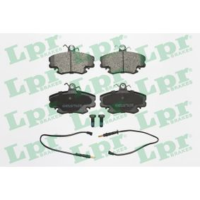 Bremsbelagsatz, Scheibenbremse Breite: 99,9mm, Höhe: 64,8mm, Dicke/Stärke: 18mm mit OEM-Nummer 7711130071