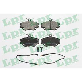 LPR  05P349 Bremsbelagsatz, Scheibenbremse Breite: 99,9mm, Höhe: 64,8mm, Dicke/Stärke: 18mm