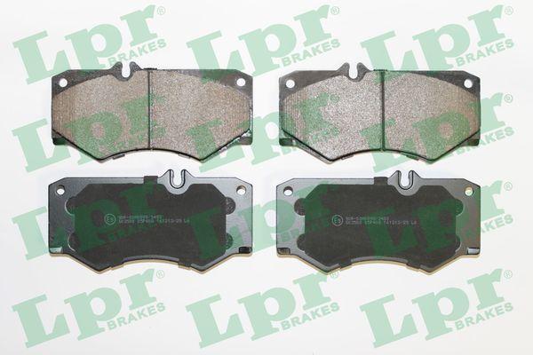 LPR  05P408 Bremsbelagsatz, Scheibenbremse Breite: 149mm, Höhe: 74,9mm, Dicke/Stärke: 18mm
