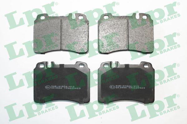 LPR  05P423 Bremsbelagsatz, Scheibenbremse Breite: 99,8mm, Höhe: 73,5mm, Dicke/Stärke: 17,5mm