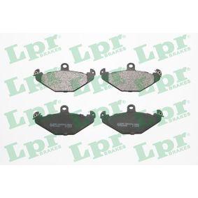 Bremsbelagsatz, Scheibenbremse Breite: 126mm, Höhe: 58,9mm, Dicke/Stärke: 14,8mm mit OEM-Nummer 7701203 124