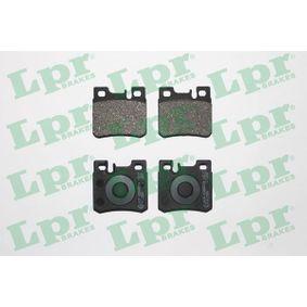 Bremsbelagsatz, Scheibenbremse Breite: 61,7mm, Höhe: 58,5mm, Dicke/Stärke: 15,2mm mit OEM-Nummer 001 420 02 20