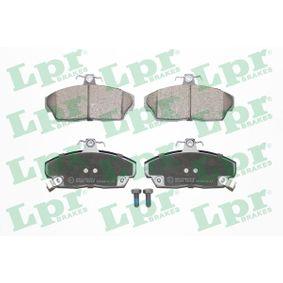 Комплект спирачно феродо, дискови спирачки ширина: 129,2мм, височина: 68,7мм, дебелина: 18мм с ОЕМ-номер GBP90313