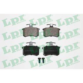 LPR Bremsbelagsatz, Scheibenbremse 05P440 für AUDI 80 (8C, B4) 2.8 quattro ab Baujahr 09.1991, 174 PS