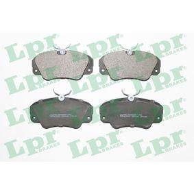 Bremsbelagsatz, Scheibenbremse Breite: 129,9mm, Höhe: 63,8mm, Dicke/Stärke: 19mm mit OEM-Nummer 16 05 004