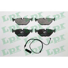 Bremsbelagsatz, Scheibenbremse Breite: 123,1mm, Höhe: 44,9mm, Dicke/Stärke: 17mm mit OEM-Nummer 34 21 1 162 446.