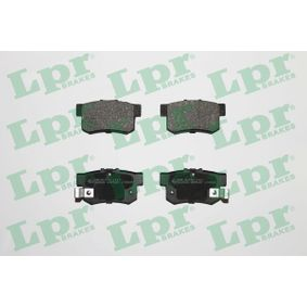 Brake Pad Set, disc brake 05P508 CIVIC 8 Hatchback (FN, FK) 1.4 (FK1, FN4) MY 2010