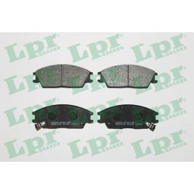Bremsbelagsatz, Scheibenbremse Breite: 127,5mm, Höhe: 49mm, Dicke/Stärke: 14,8mm mit OEM-Nummer 58101-25A20