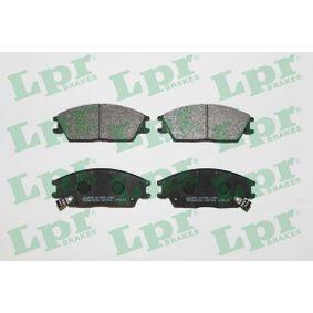 Bremsbelagsatz, Scheibenbremse Breite: 127,5mm, Höhe: 49mm, Dicke/Stärke: 14,8mm mit OEM-Nummer 5810125A10