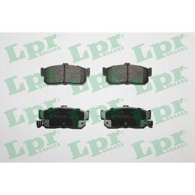 Bremsbelagsatz, Scheibenbremse Breite: 105,2mm, Höhe: 47mm, Dicke/Stärke: 16,3mm mit OEM-Nummer 440604U090